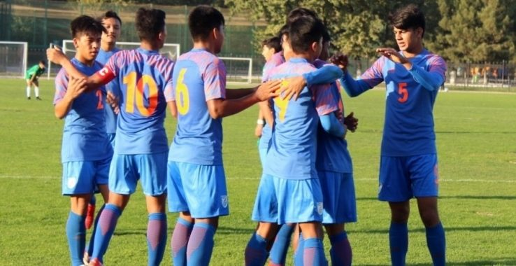 The India U-16 boys' Team marched on to yet another win, this time, defeating Central Asian side Turkmenistan in their opening match of the AFC U-16 Championship Qualifiers, Group B, on Wednesday, September 18.