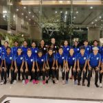 Indian Women's Team lands in UAE for friendly matches